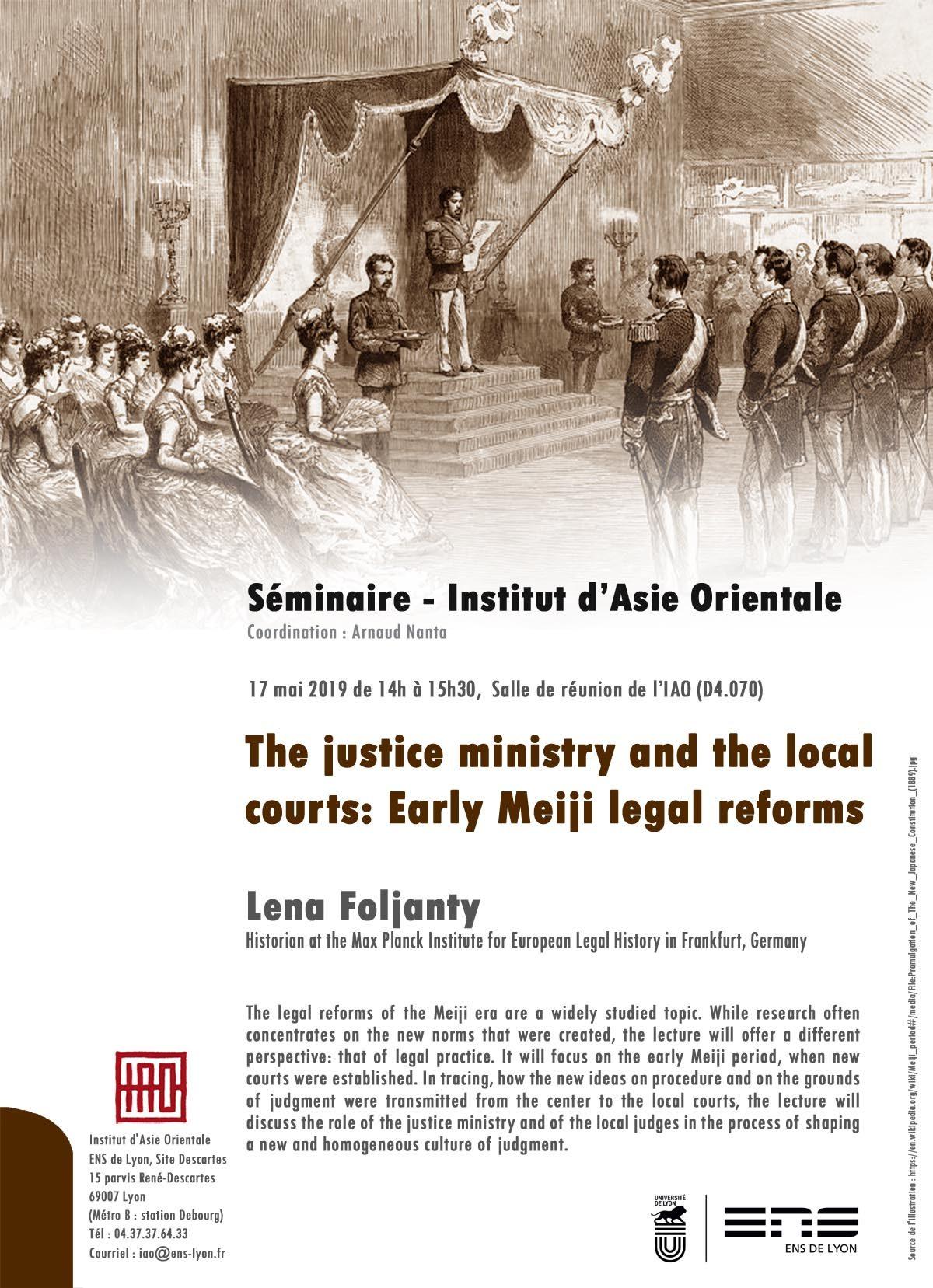 Séminaire de l'IAO : Lena Foljanty