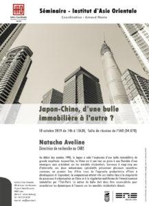 Natacha Aveline - Japon-Chine, d'une bulle immobilière à l'autre ?