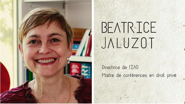 Béatrice Jaluzot dans la série Mots de Chercheurs