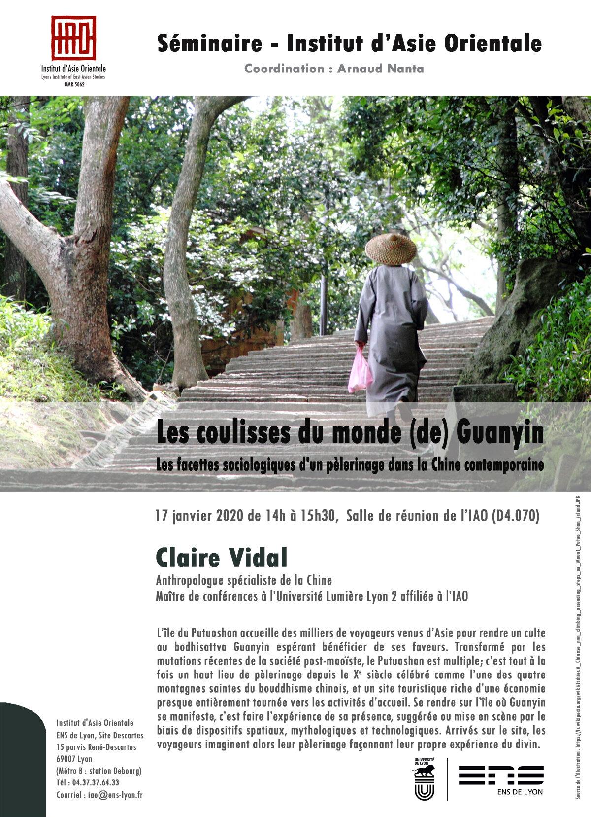 Séminaire de l'IAO : Claire Vidal