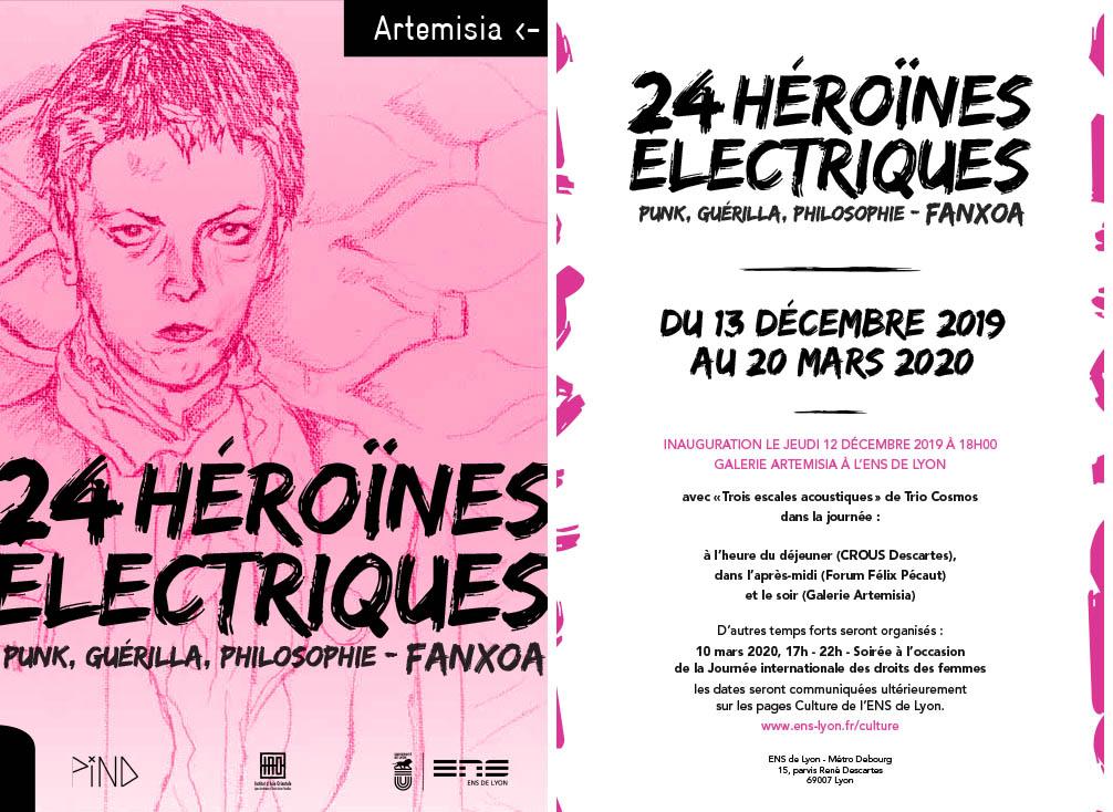 Exposition. 24 héroïnes électriques