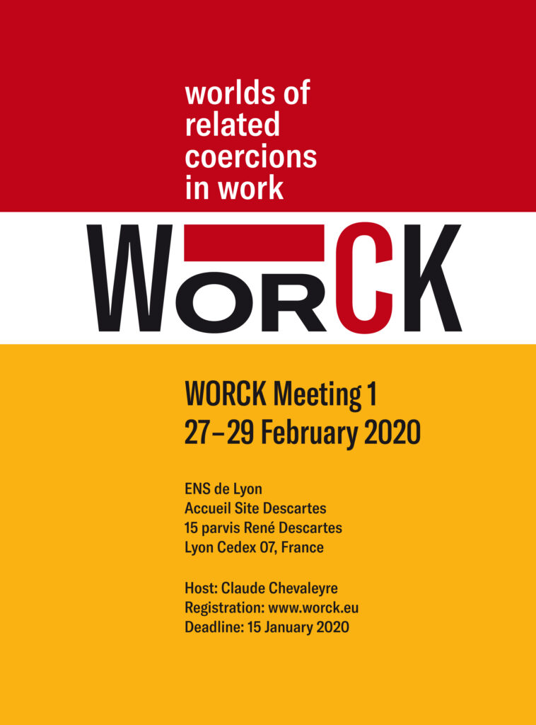 WORCK Meeting 27-29 February 2020