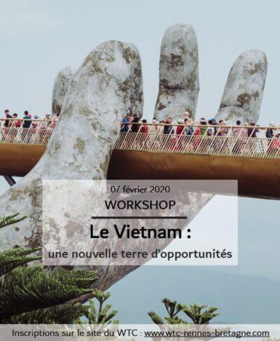 Colloque Le Vietnam : une nouvelle terre d'opportunités