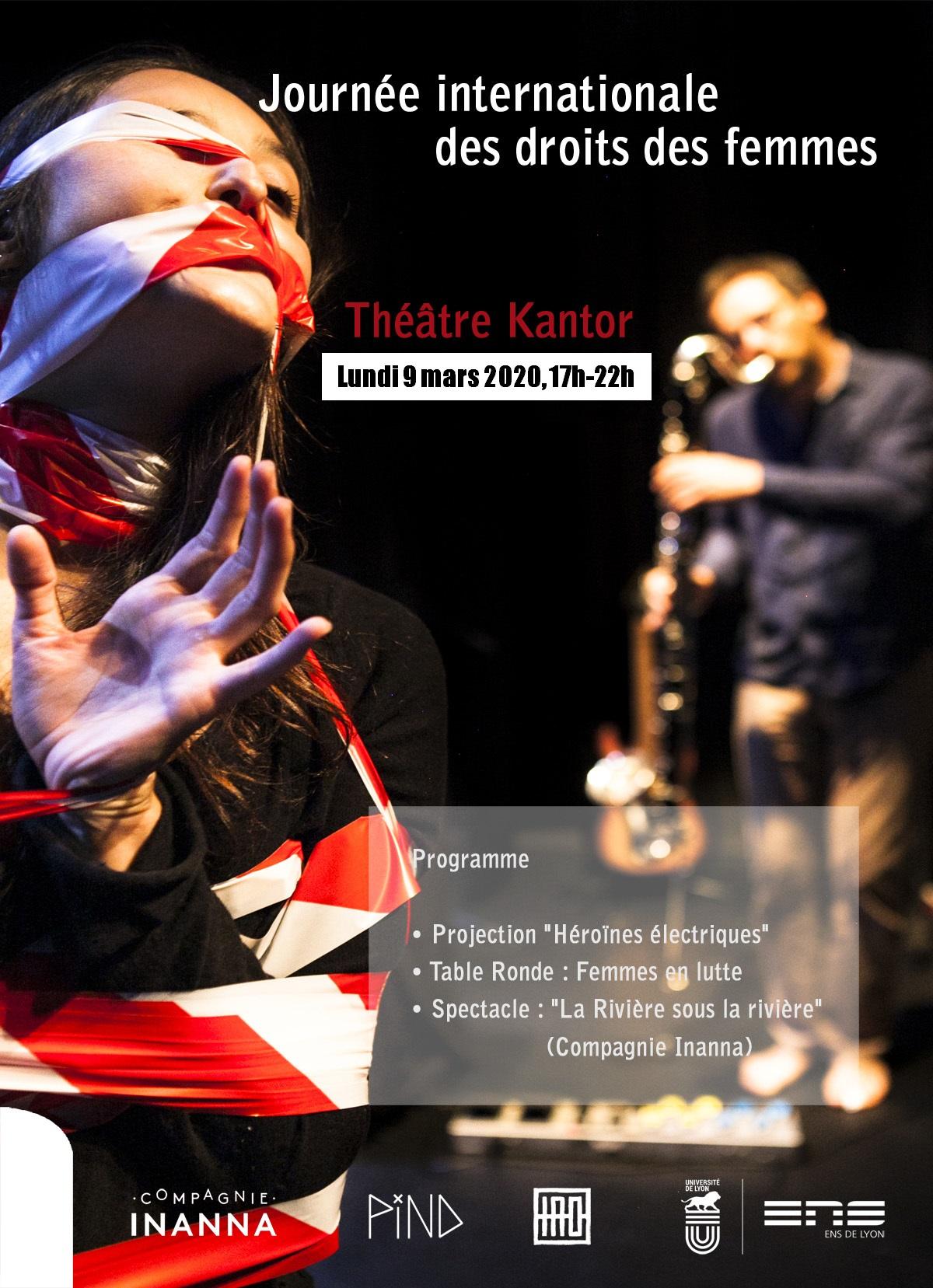 Journée internationale des droits des femmes, 9 mars 2020. Théâtre Kantor