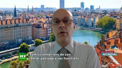 Arnaud Nanta, intervenu dans l'émission de géopolitique L'Échiquier Mondial