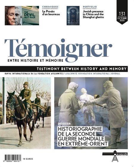 revue Témoigner. Entre histoire et mémoire