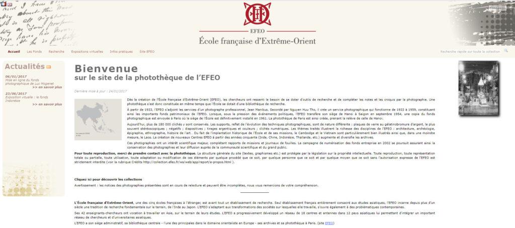 photothèque de l'EFEO