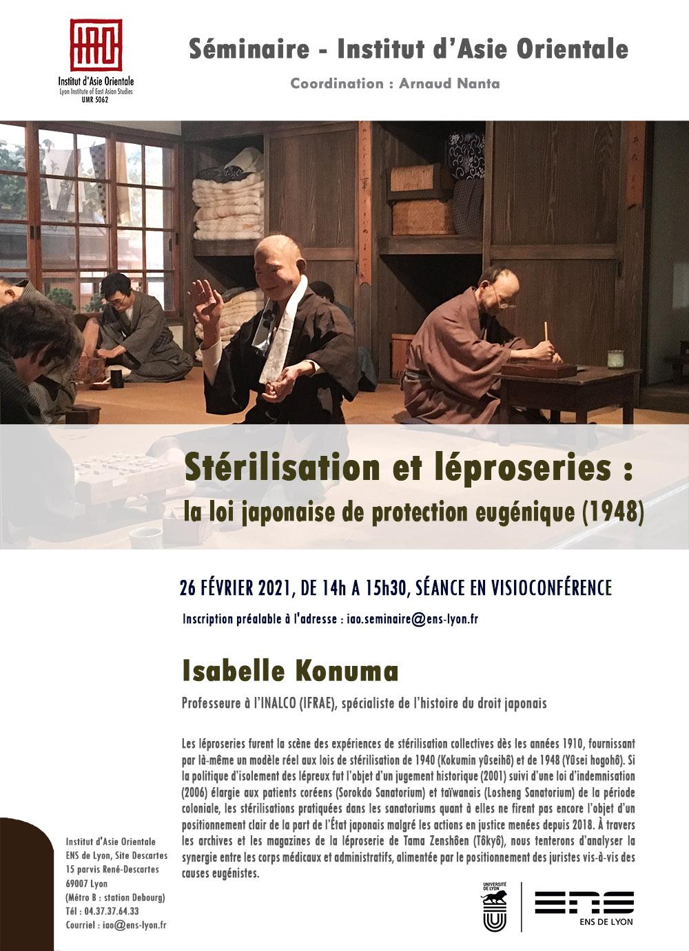 Séminaire de l'IAO : Isabelle Konuma