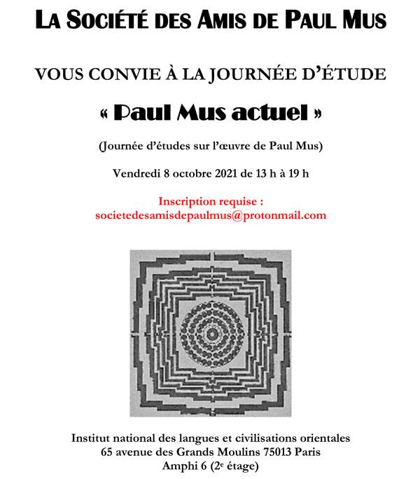 Journée d'étude «Paul Mus actuel»